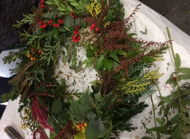 Sorry You Missed: CHS Holiday Harvest Wreath Workshop